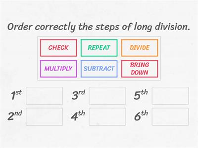 Copy of LONG DIVISION STEPS