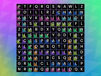 ai/ay wordsearch