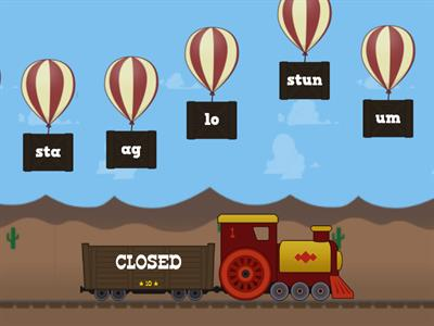 open or closed syllable?