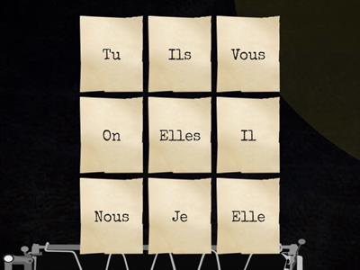 French reflexives flip tiles