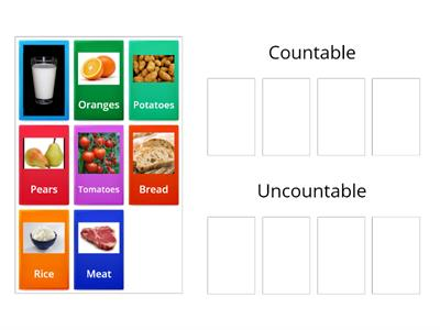 Countable /uncountable