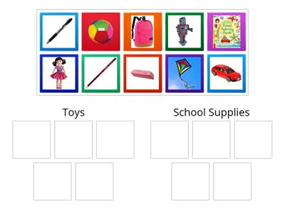 Copy of Toys - School Supplies