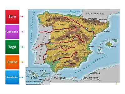 Cartina Muta Marocco.Cartina Muta Spagna Esercizi