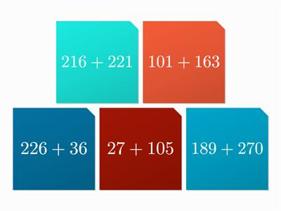 Maths addition tiles 1