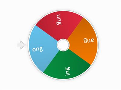 10/9: Ing, ang, ong, ung practice wheel