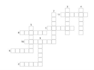Past Simple Crossword