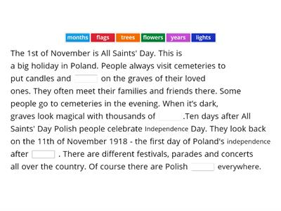 EC A1+     November holidays in Poland
