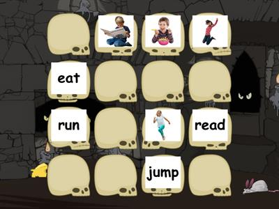 VERBS IN PAST (Memory card game)