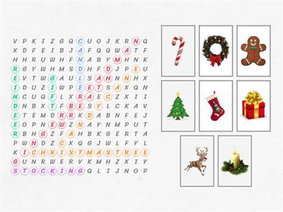christmas wordsearch 2nd grade