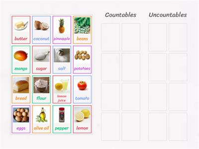 Spotlight 4 Unit 5  Countable Uncountable Food Spooky