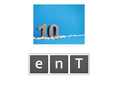 Tens| ANAGRAM (with pictures)