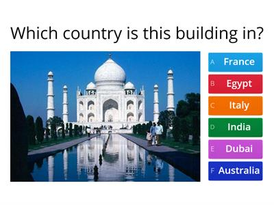 Buildings Quiz