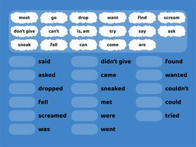 Past Simple Verbs German