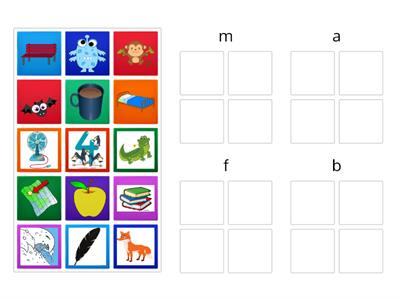 OG Lesson 4: Initial Sound Picture Sort