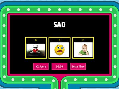 EMOTIONS GAMESHOW