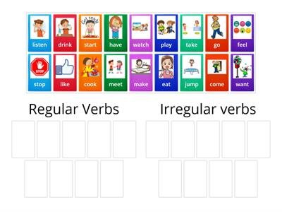 Past Simple - Regular and Irregular verbs