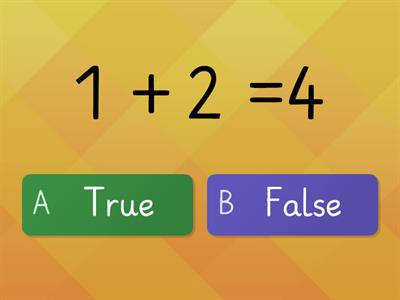 True or False Addtition