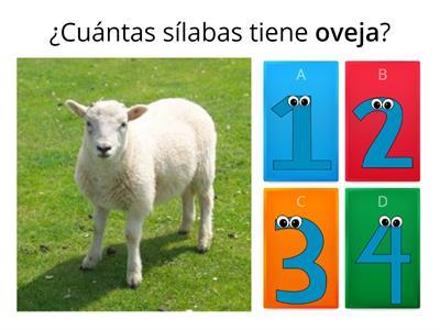 División silábica número <b>de</b> sílabas - Mga Teaching resource