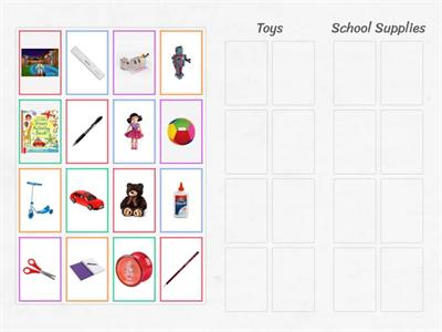 Toys - School Supplies