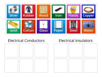 GRI Sorting Conductors and Insulators