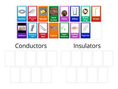 Thermal Conductors or Insulators