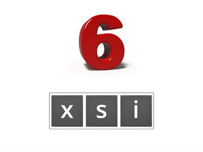 Numbers 6-10 Anagram