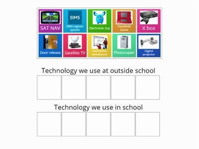 Technology at home and in school 2