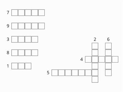 Space Crossword