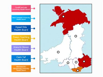 NHS Health Boards and Trusts in Wales