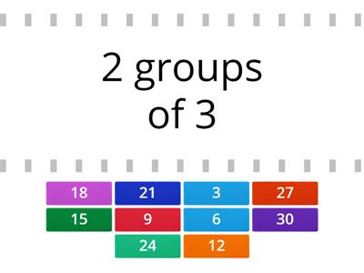 Groups of 3 (Activity 1)