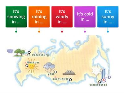 What`s the weather like in ... ?