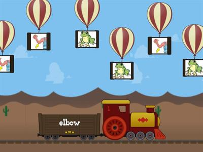 5-7 years old Oxford Phonics 3 Lesson 21 game 3