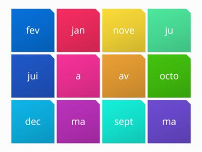 french months first part