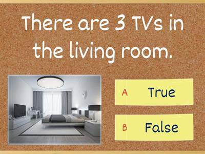 There is/There are (true, false)