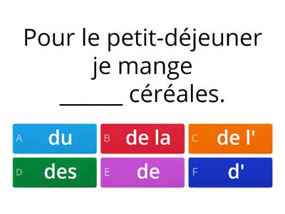 Some/Any: Du / De la / De l' / Des?
