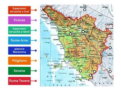 Cartina Geografica Della Toscana.Spagna Carta Geografica Politica