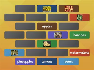 05b Fruit 3 (all 12 items) from Racing to English