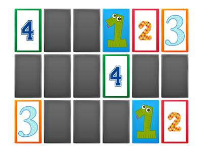Copy of Matching Game 1-9