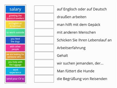 S3 german languages for work
