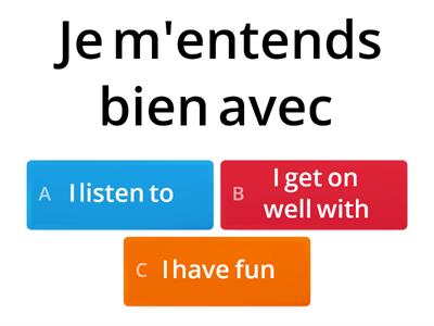 Using reflexive verbs (Y9 French)