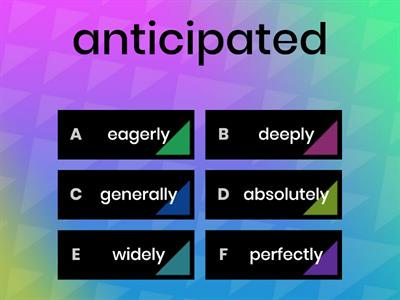 Adjectives to describe art