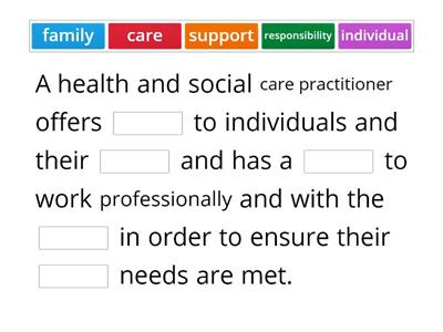 What does a health care practitioner do?