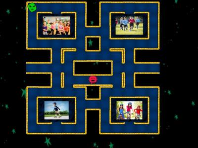 MAZE CHASE Treetops 2 U8 Sports WORDS