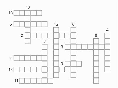 Brickwork Keyword Crossword