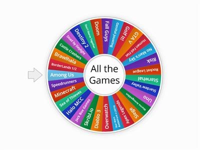 Master Wheel of Games
