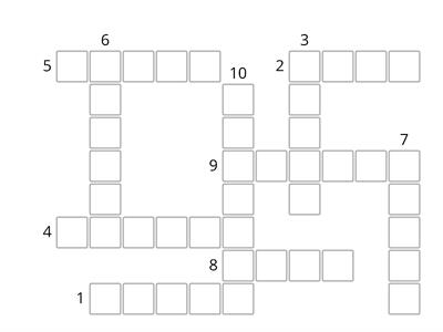 Silent letters Crossword