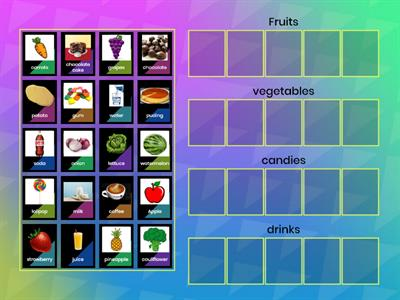 Kinds of foods- tipos de alimentos  teacher Rafael Aguiar