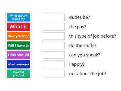 Job Interview Questions oxford