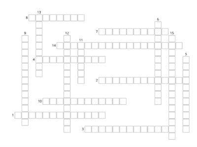 World War 1 Crossword