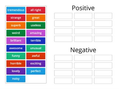 WW4 L0.4 Opinion adjectives